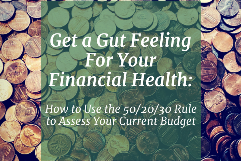 Financial Health Current Budget