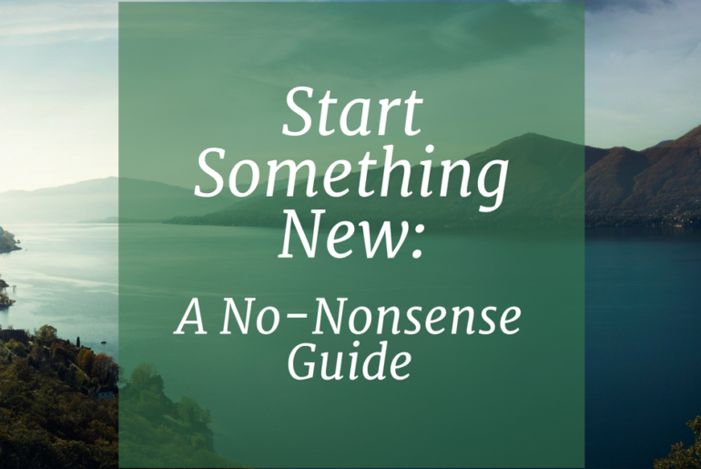 Start Something New