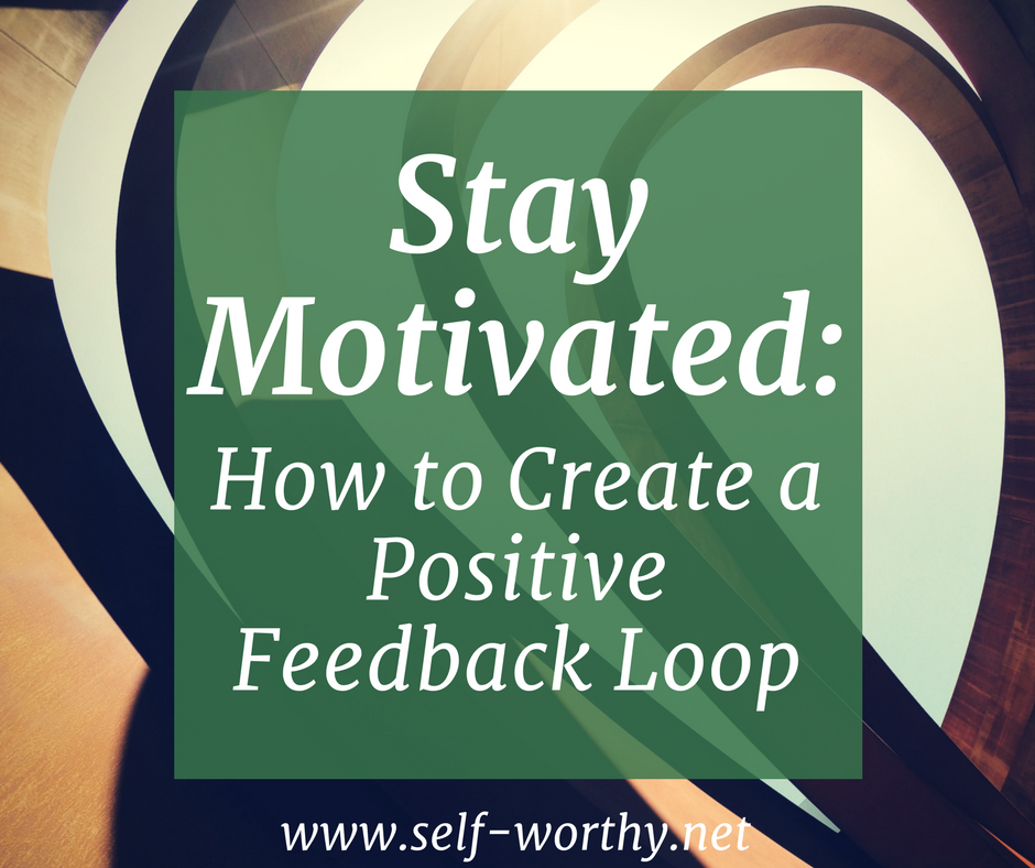 Stay Motivated How To Create A Positive Feedback Loop